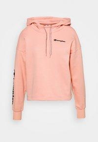 HOODED CROP LEGACY - Hoodie - pink