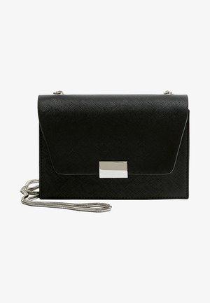 SCHWARZE UMHÄNGETASCHE 14015540 - Across body bag - black
