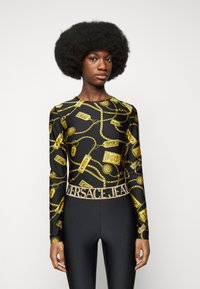 Versace Jeans Couture - Long sleeved top - black - 0