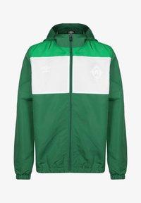 Umbro - SV WERDER BREMEN  - Training jacket - verdant green / white / golf green - 0