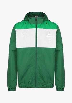 SV WERDER BREMEN  - Veste de survêtement - verdant green / white / golf green