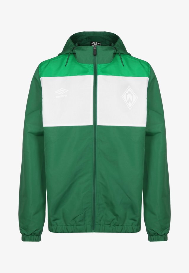 SV WERDER BREMEN  - Training jacket - verdant green / white / golf green