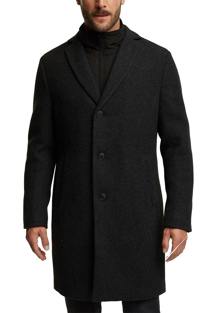 Esprit Collection - COAT 2IN1 - Manteau classique - anthracite