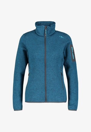Fleece jacket - marine