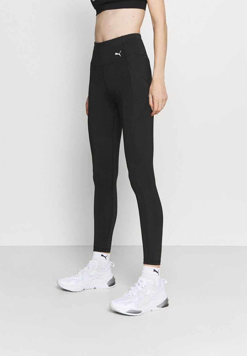 Puma - FAVORITE FOREVER HIGH WAIST 7/8 - Leggings - black