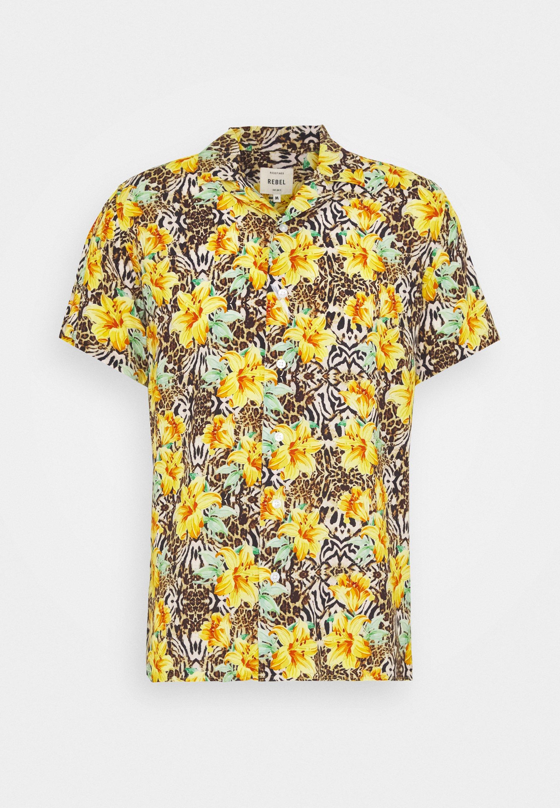 Men LUKE  - Shirt - yellow