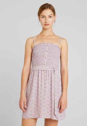 SMOCKED DRESS - Day dress - lavender ditsy