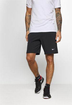 ACE SHORT - Sports shorts - black/white