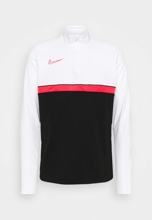 ACADEMY DRIL - T-shirt sportiva - black/bright crimson