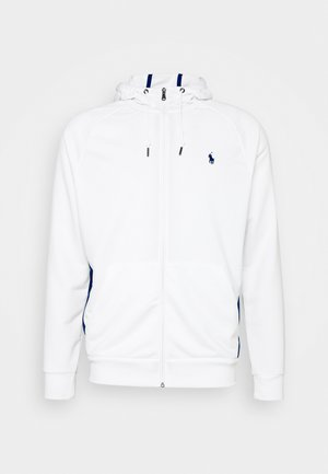 LONG SLEEVE - Zip-up hoodie - pure white