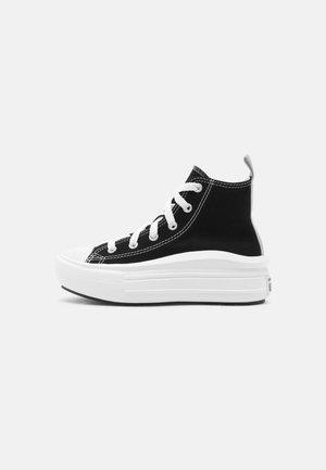CHUCK TAYLOR ALL STAR MOVE COLOR POP - Sneakers hoog - black/pink salt/white