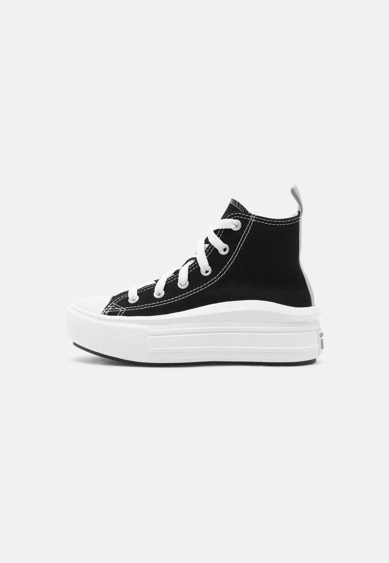 Converse - CHUCK TAYLOR ALL STAR MOVE COLOR POP - Baskets montantes - black/pink salt/white
