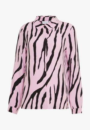 PERFECT BLOUSE - Blouse - black/pink sky