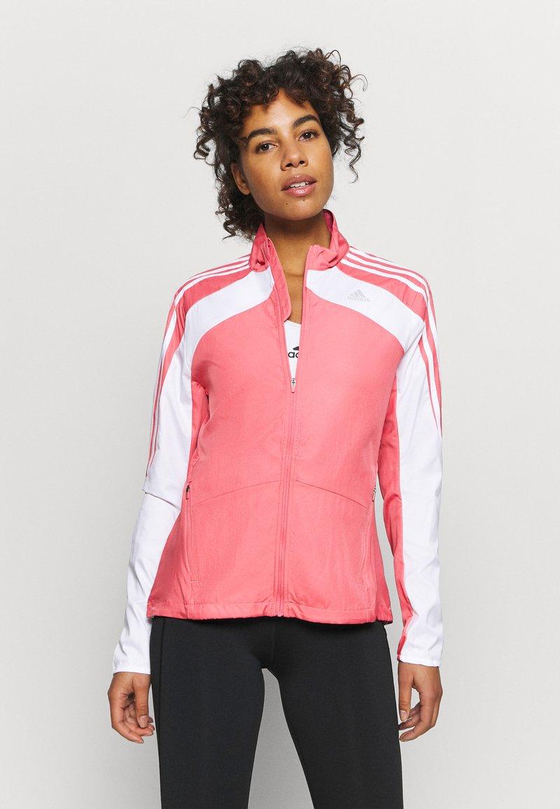adidas Performance - MARATHON  - Chaqueta de deporte - light pink