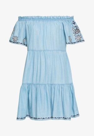 SASHA - Vestido vaquero - blue