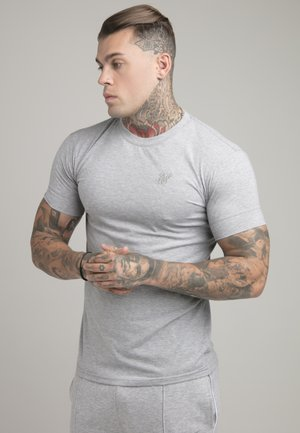 SMART ESSENTIALS TEE - Basic T-shirt - grey marl
