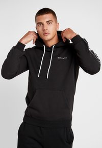 Champion - HOODED  - Hoodie - black - 0