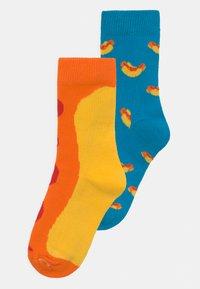 Happy Socks - HOT DOG 2 PACK UNISEX - Socks - multi - 0