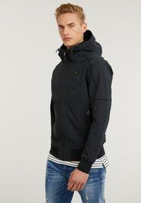 CHASIN' - Summer jacket - black - 2
