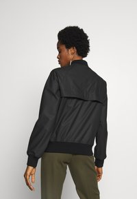 Hunter ORIGINAL - WOMENS ORIGINAL LIGHTWEIGHT JACKET - Faux leather jacket - black - 2