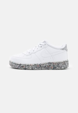 FORCE 1 - Trainers - white/metallic silver