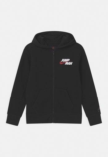 JUMPMAN - Zip-up sweatshirt - black