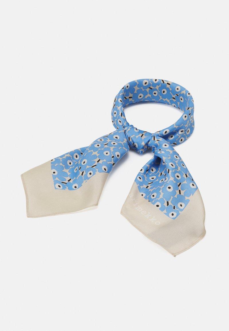 Marimekko - TYRSKY PIKKUINEN UNIKKO SCARF - Chusta - light blue/beige/white