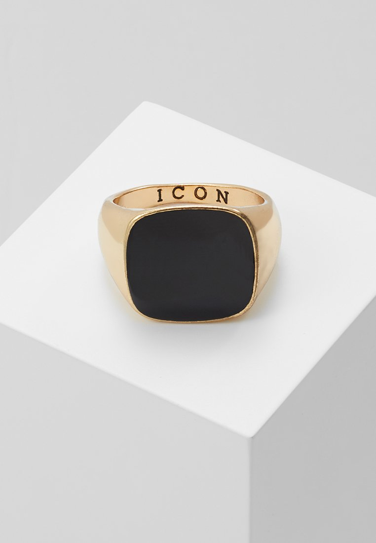 Icon Brand - SQUARED SIGNET - Ring - gold-coloured