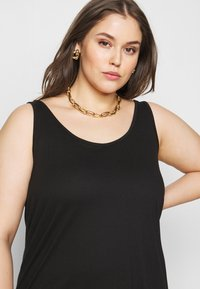New Look Curves - CROSS BACK  - Top - black - 3