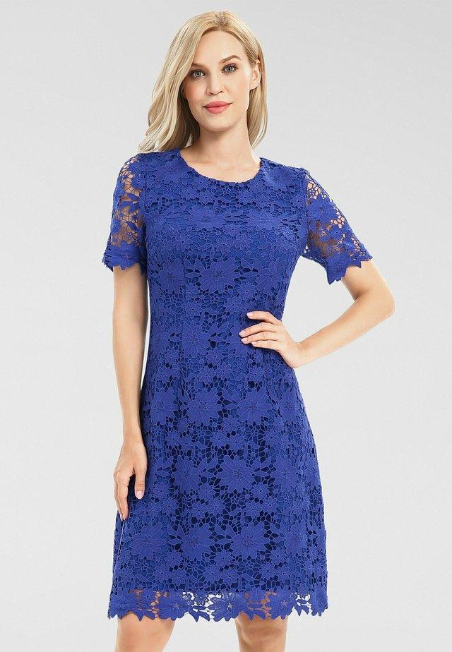 Robe de soirée - azurblau