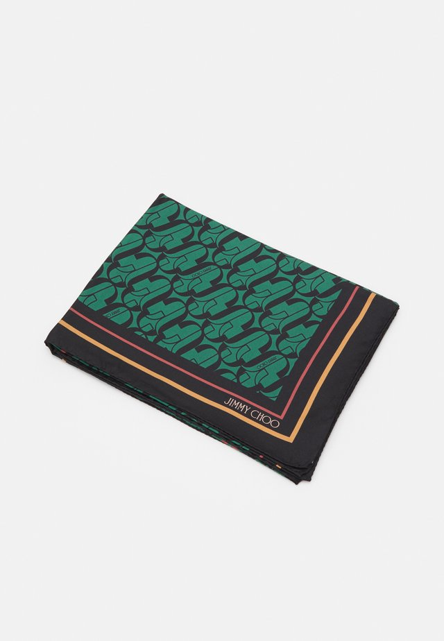 FOULARD LOGO SHOE PRINT - Foulard - dark green