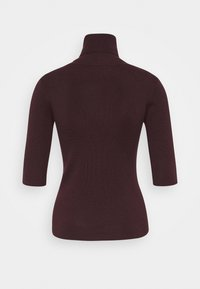 Filippa K - ELBOW SLEEVE - Basic T-shirt - maroon