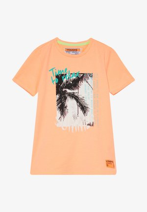 HAFSSA - T-shirts print - neon orange