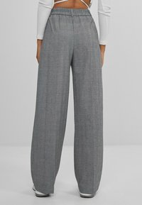 Bershka - Pantalon classique - grey - 2
