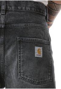 Carhartt WIP - Straight leg jeans - black - 4