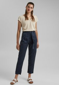 edc by Esprit - UTILITY  - Trousers - navy - 1