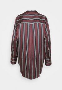ASCENO - THE PARIS - Pyjama top - burgundy - 1