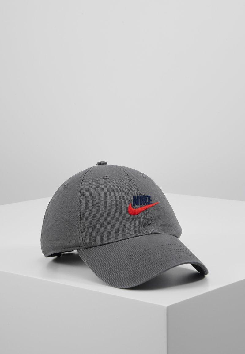 Nike Sportswear - FUTURA WASHED - Cap - iron grey