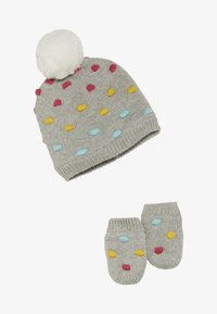 GAP - HAT MITT BABY SET - Huer - grey heather