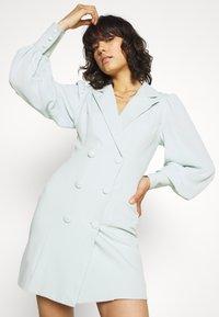 Missguided - SLEEVE BLAZER DRESS - Shirt dress - mint - 4