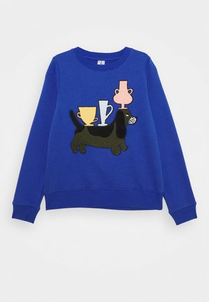 JUMPER UNISEX - Sweatshirt - blue bright