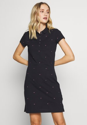 CHIARA EMBR POLO DRESS - Robe d'été - desert sky