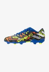 adidas Performance - NEMEZIZ MESSI 19.3 FG - Moulded stud football boots - team royal blue/silver metallic/solar yellow - 0