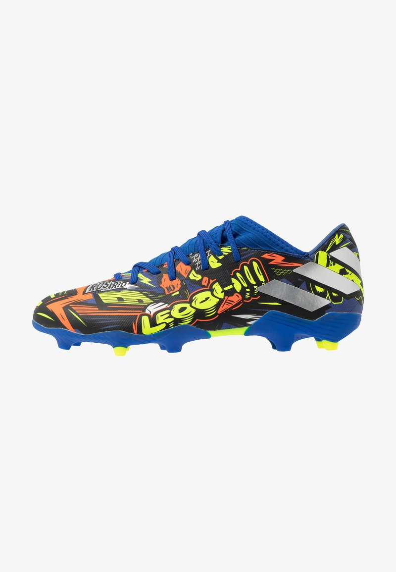 adidas Performance - NEMEZIZ MESSI 19.3 FG - Moulded stud football boots - team royal blue/silver metallic/solar yellow