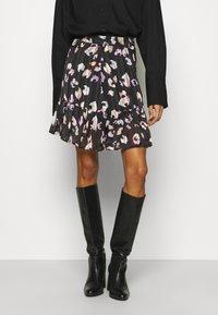 Guess - CHIKA SKIRT - Mini skirt - multi coloured - 0