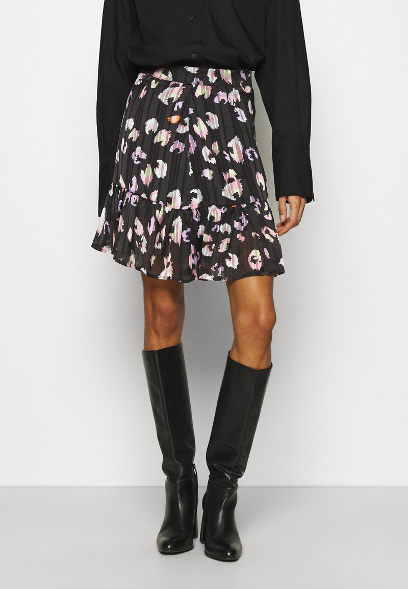 Guess - CHIKA SKIRT - Mini skirt - multi coloured