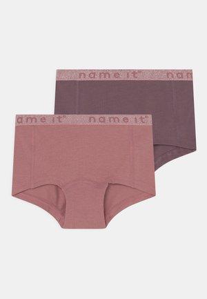NKFHIPSTER NOSTALGIA LUREX 2 PACK - Panties - nostalgia rose