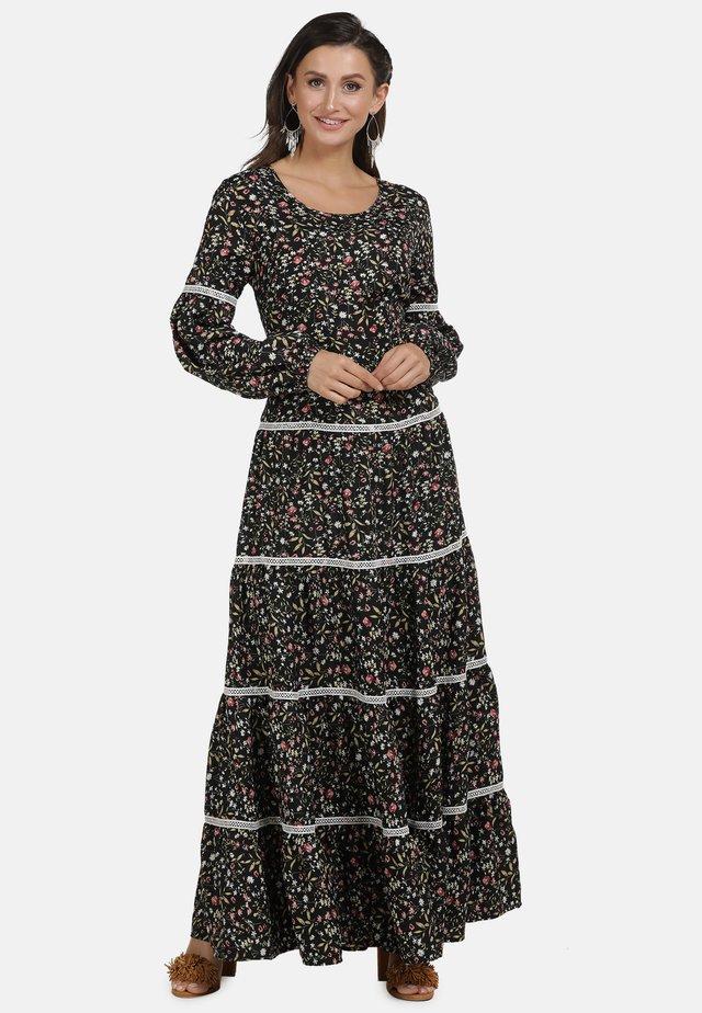 Vestito lungo - flower print