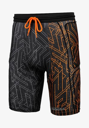 SHORT PADDED PRO - Sports shorts - orange