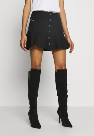 O-BETH SKIRT - Mini skirt - black